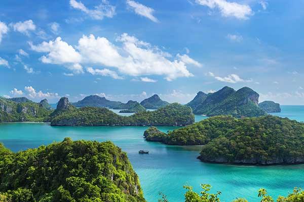 Angthong Marine Park Thailand