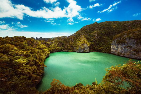 Emerald Lagoon Angthong Marine Park